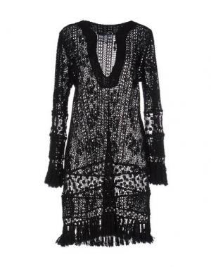 Короткое платье TEMPTATION. Цвет: черный