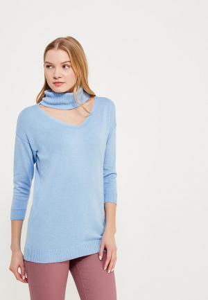 Свитер Zarina. Цвет: голубой