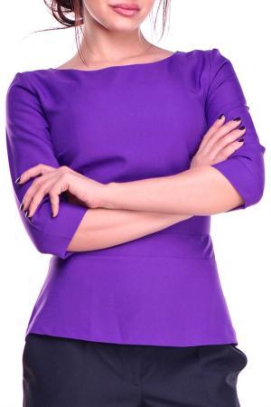 Блуза REBECCA TATTI. Цвет: фиалковый