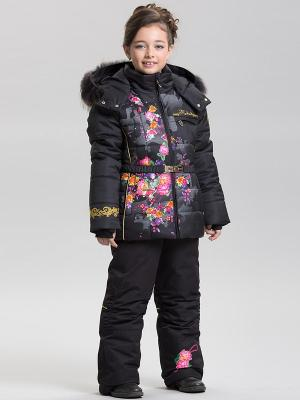 Комплект одежды RadRada. Цвет: черный, розовый
