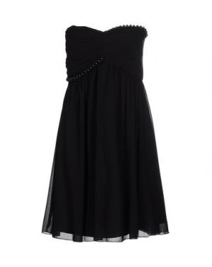 Короткое платье VERA MONT. Цвет: черный