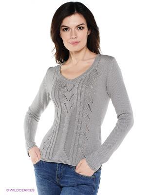 Пуловер SenSy. Цвет: серый
