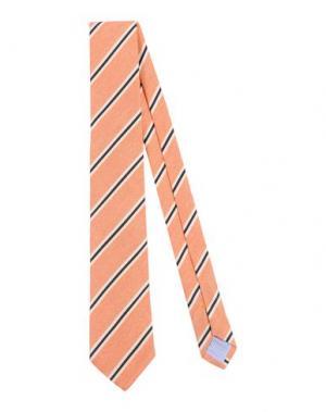 Галстук GALLIENI. Цвет: оранжевый
