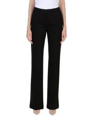 Повседневные брюки PESERICO SIGN. Цвет: темно-коричневый