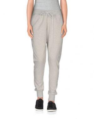 Повседневные брюки LUXURY FASHION. Цвет: светло-серый
