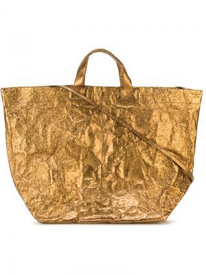 Shopper tote Zilla. Цвет: металлический