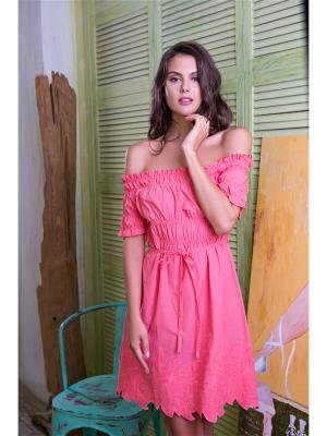 Платье Mia-Mia. Цвет: розовый
