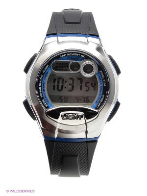 Часы Casio W-752-2B. Цвет: синий