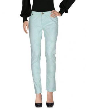 Повседневные брюки ATELIER FIXDESIGN. Цвет: светло-зеленый