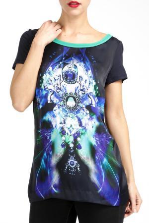 Блузка PAOLA COLLECTION. Цвет: зеленый