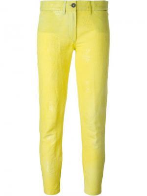 Брюки Midas Ann Demeulemeester. Цвет: жёлтый и оранжевый