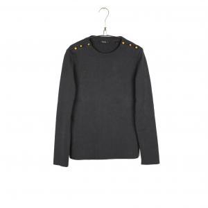 Пуловер в полоску - PARINIA SCHOOL RAG. Цвет: темно-синий