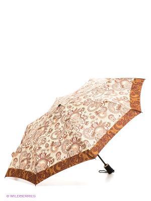 Зонт Airton. Цвет: бежевый, коричневый