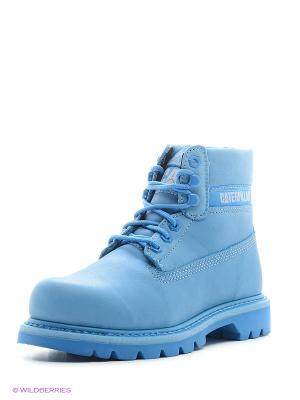 Ботинки Caterpillar. Цвет: голубой