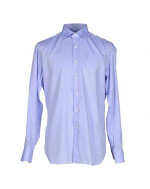 Pубашка ALESSANDRO GHERARDI. Цвет: сиреневый