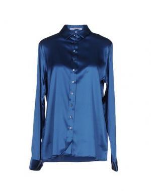 Pубашка WALTER VOULAZ. Цвет: синий
