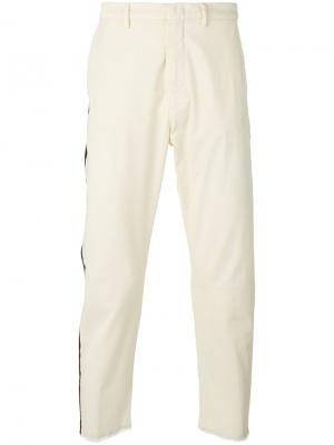 Укороченные брюки Baldo Pence. Цвет: телесный