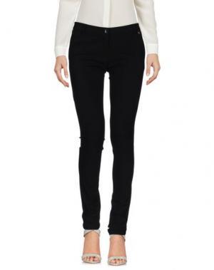 Повседневные брюки MARTINAESSE. Цвет: черный