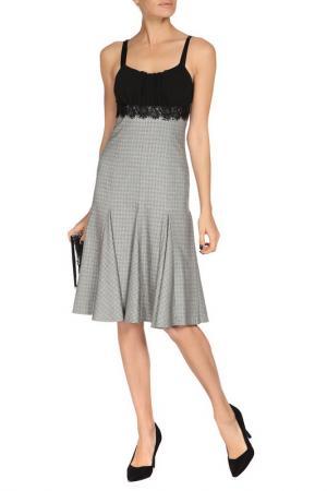 Платье-сарафан Monica Ricci. Цвет: серый