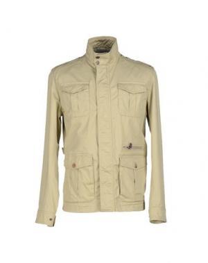 Куртка ADHOC. Цвет: бежевый