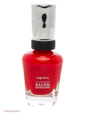 Лак для ногтей Complete Salon Manicure SALLY HANSEN. Цвет: красный