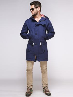 Куртки Nikolom. Цвет: синий