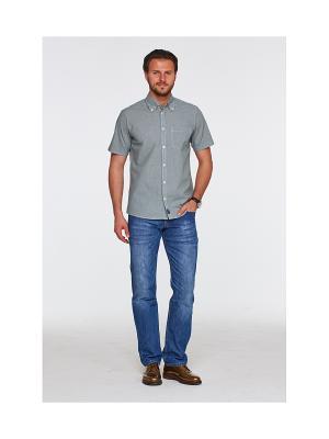 Рубашка Westrenger. Цвет: оливковый