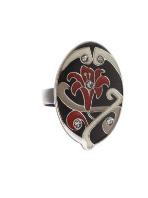 Кольцо Clara Bijoux. Цвет: черный, бежевый, бордовый