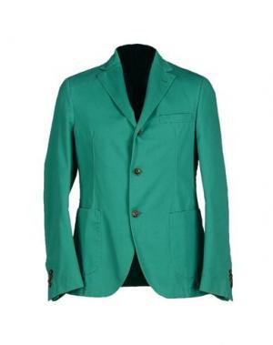 Пиджак MONTEDORO. Цвет: зеленый