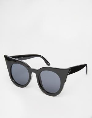 Le Specs Солнцезащитные очки кошачий глаз Flashy Dramatic
