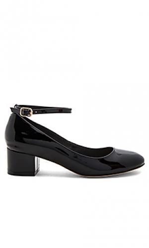 Туфли лодочки reina RAYE. Цвет: черный