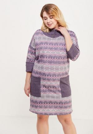 Платье домашнее Лори. Цвет: серый