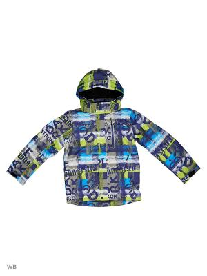 Куртка High Experience. Цвет: синий, серый, салатовый