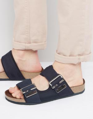 G-Star Черные сандалии с пряжками Command. Цвет: черный