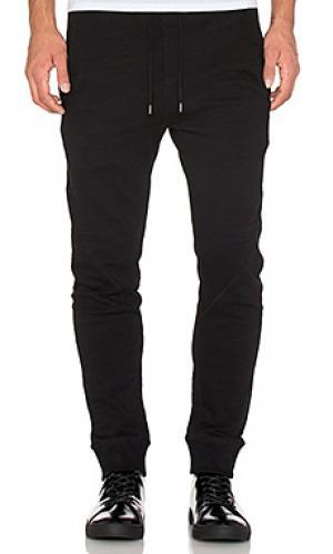 Спортивные брюки tracks Tiger of Sweden. Цвет: черный