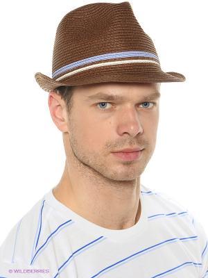 Шляпа Fred Perry. Цвет: коричневый