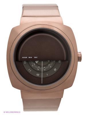 Часы TACS. Цвет: бронзовый