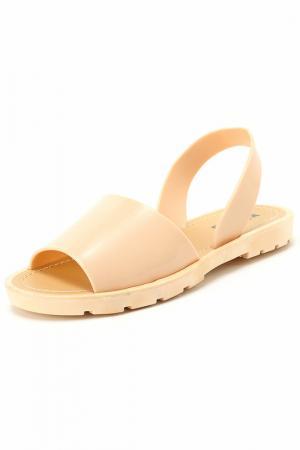 Туфли открытые Keddo. Цвет: бежевый