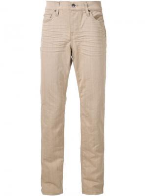 Джинсы прямого кроя Joes Jeans Joe's. Цвет: коричневый