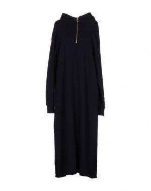 Платье длиной 3/4 C.Y.H. CLAP YOUR HAND. Цвет: темно-синий