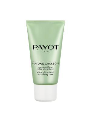 Payot Pate Grise Очищающая матирующая угольная маска 50 мл. Цвет: прозрачный