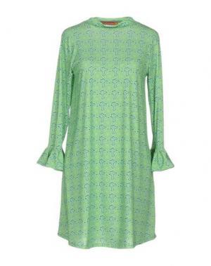 Короткое платье AGATHA RUIZ DE LA PRADA. Цвет: зеленый