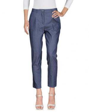Джинсовые брюки TROU AUX BICHES. Цвет: синий