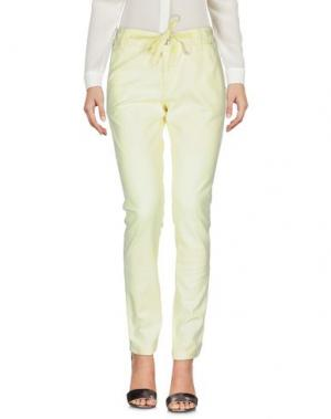 Повседневные брюки MET & FRIENDS. Цвет: желтый