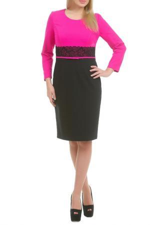 Платье Сибилла LESYA. Цвет: розовый