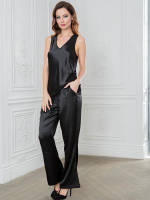 Пижама MIA-AMORE. Цвет: черный