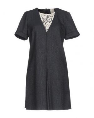 Короткое платье ...À_LA_FOIS.... Цвет: синий