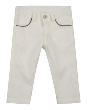 Повседневные брюки LES PARROTINES. Цвет: белый