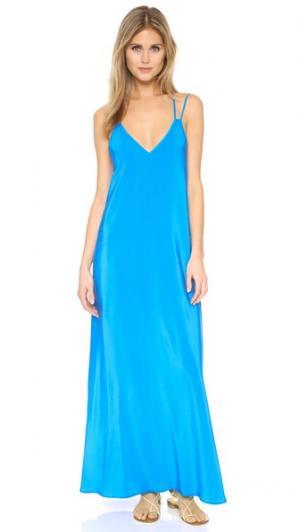 Платье Hot Summer Night Yumi Kim. Цвет: голубой