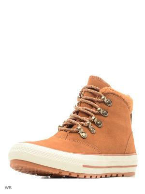 Кеды Chuck Taylor All Star Ember Boot Converse. Цвет: оранжевый